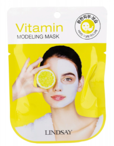 Альгинатная маска с витаминами Lindsay Vitamin Modeling Mask 28г