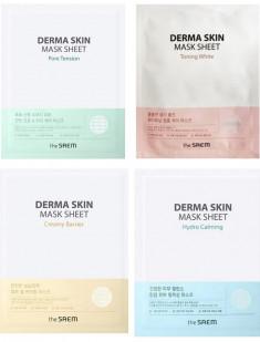 тканевая маска для лица the saem derma skin mask sheet