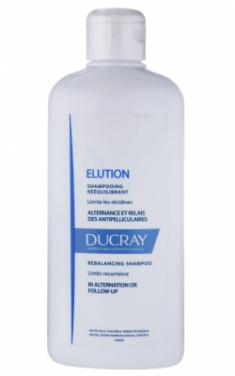 Мягкий балансирующий шампунь Ducray Elution Shampooing doux équilibrant 400мл