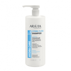 Шампунь увлажняющий для восстановления сухих обезвоженных волос ARAVIA Professional Hydra Pure Shampoo 1000мл