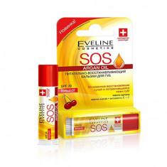 Eveline, Бальзам для губ Argan Oil SOS «Вишня»
