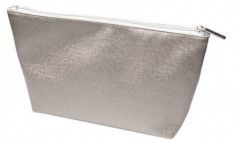 Косметичка серый металлик TITANIA 23х8,5х17см