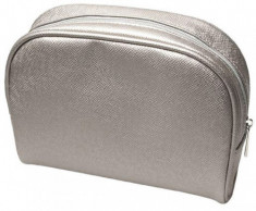 Косметичка серый металлик TITANIA 22х8х14см