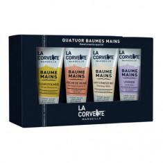 La Corvette, Крем для рук: «Виноградный персик», «Молоко ослицы», «Лаванда», «Цветок оливкового дерева»